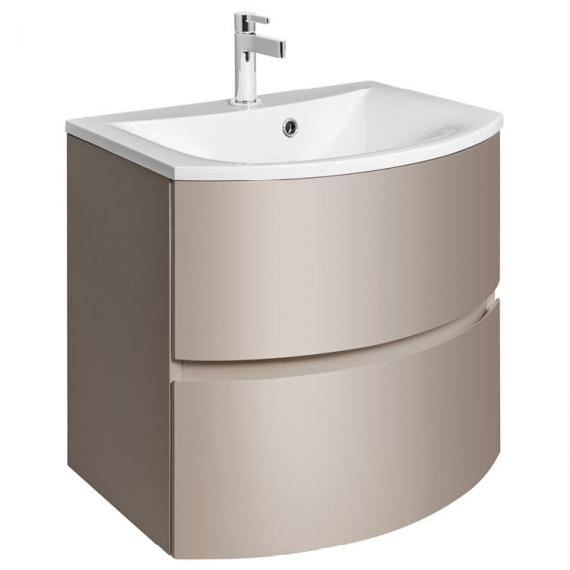 Bauhaus Svelte Matt Coffee 60 Vanity Unit and Basin