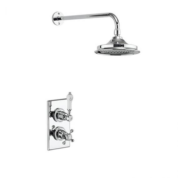 Burlington Trent Thermostatic Shower Valve & Shower Rose Pack