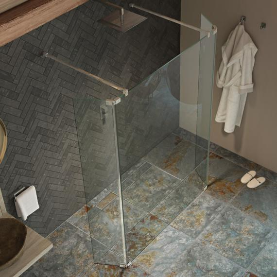 Kudos Ultimate2 900mm Walk Through Shower Panel