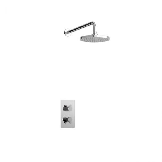 Britton Bathrooms Concealed Thermostatic Valve & Shower Head