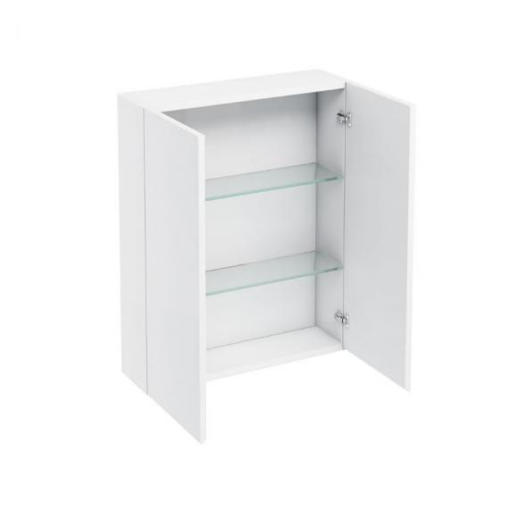 Aqua Cabinets 600mm White Wall Cabinet