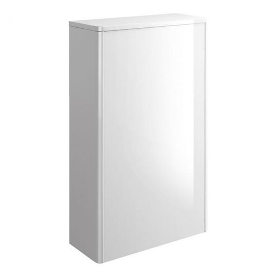 Bauhaus Waldorf White Gloss WC Furniture Unit