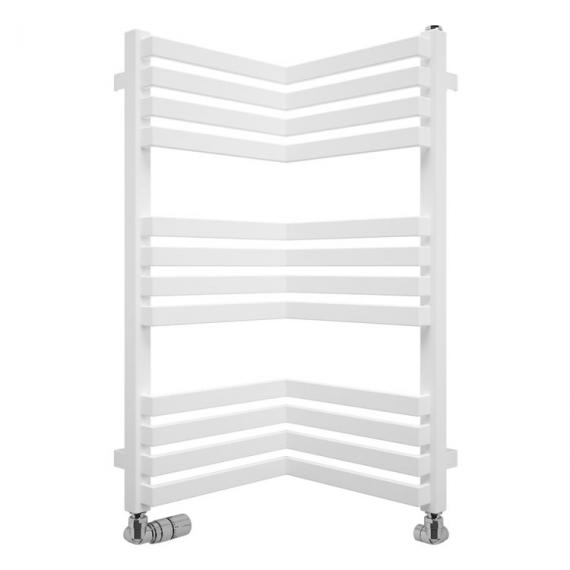Bauhaus Zion 350 Soft White Matte Towel Rail