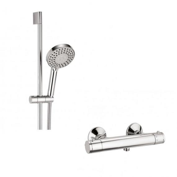 Crosswater Central Five Mode Exposed Shower Valve Kit