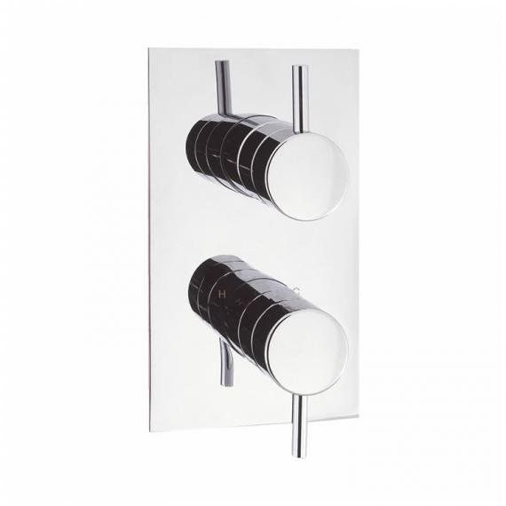 Crosswater Kai Lever Twin Shower Valve