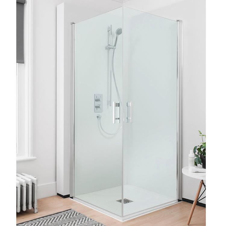 Crosswater Simpsons Click Easy Access 900mm Double Hinged