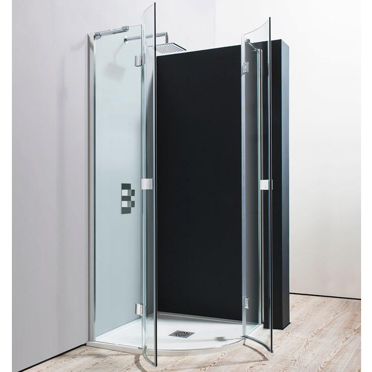 Crosswater Simpsons Design Quadrant Double Hinged Shower