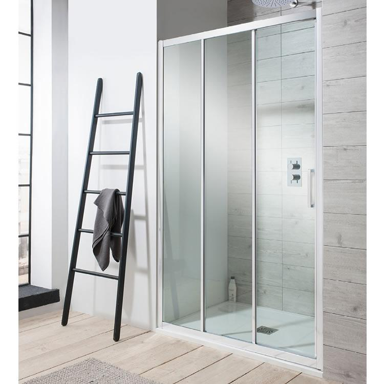 Simpsons Edge Triple Sliding Shower Door Sanctuary Bathrooms