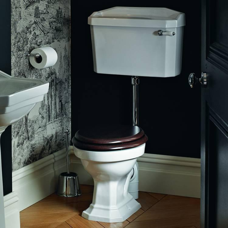 Heritage Granley Low Level Wc Amp Cistern Sanctuary Bathrooms