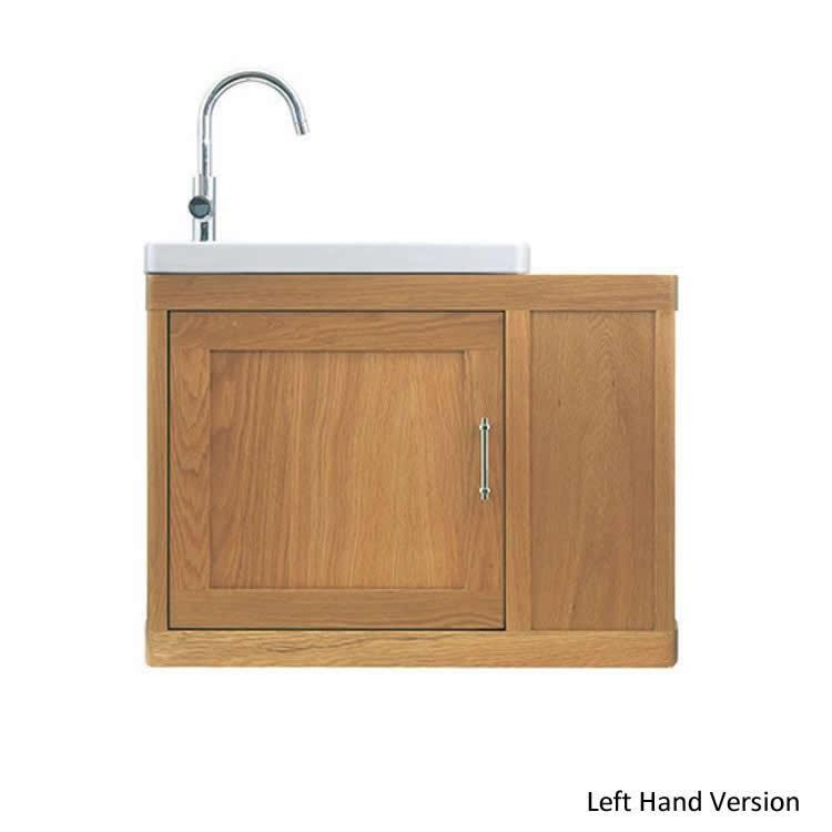 Imperial Carlyon Thurlestone Offset Cloak Vanity Unit