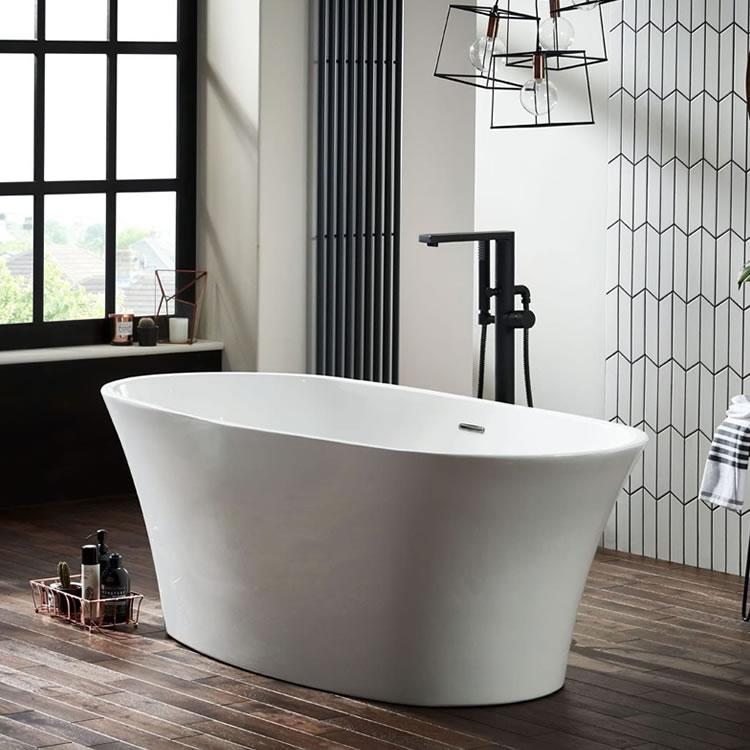 Frontline Ion Freestanding 1700 x 800mm Double Ended Bath ...