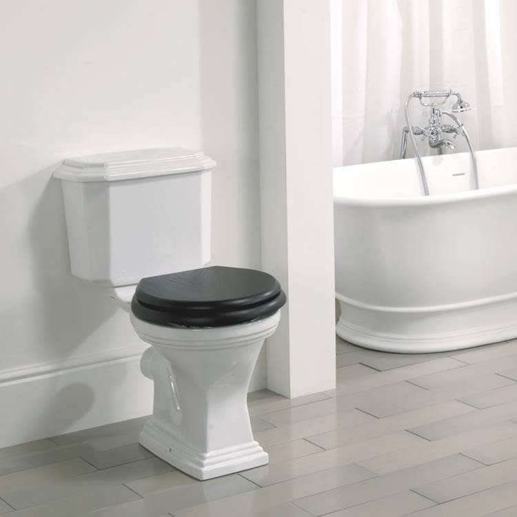 Imperial Astoria Deco Round Pan And Cistern Imperial