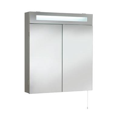Ultra tucson double cabinet with light lq334 for Bathroom cabinets tucson