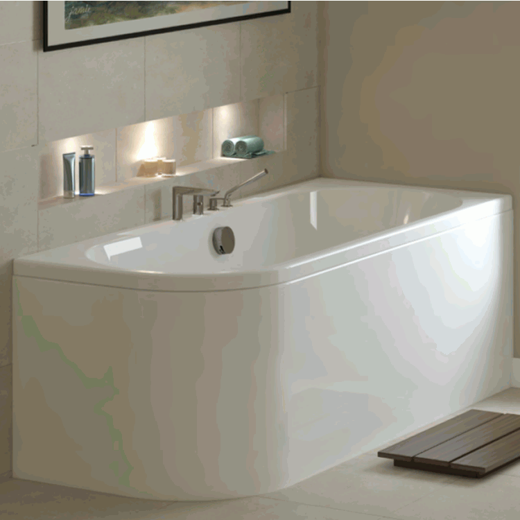 Mere Angelo 1600 X 700 Single Ended Bath Mere Bathrooms