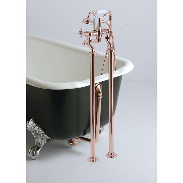 Heritage Rose Gold Stand Pipes