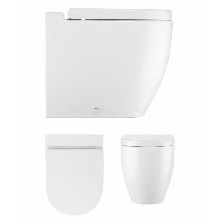 Bauhaus Stream Ii Wall Hung Toilet Sanctuary Bathrooms
