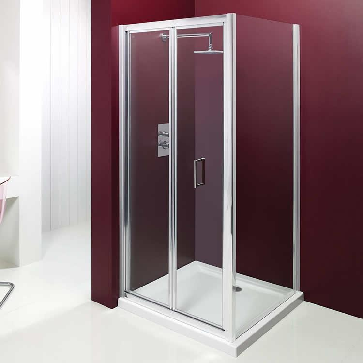 Merlyn Vivid Entree Bi Fold Shower Door 760 Bifold Shower