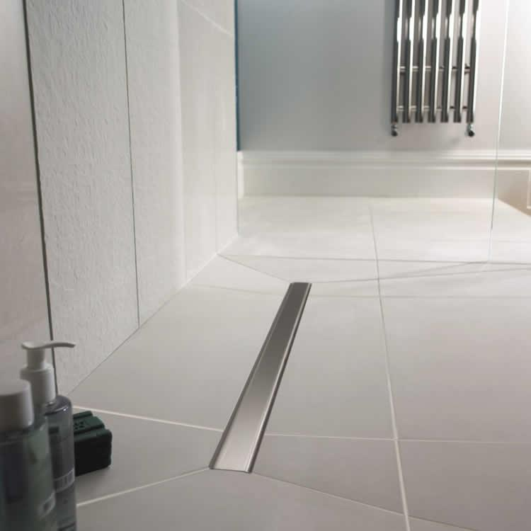 Impey Aqua Dec Linear 1200 X 1200mm Wetroom Floor Former