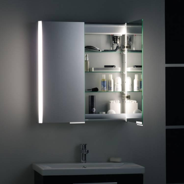mirrored bathroom cabinet with light roper aluminium summit bathroom cabinet with light 23382