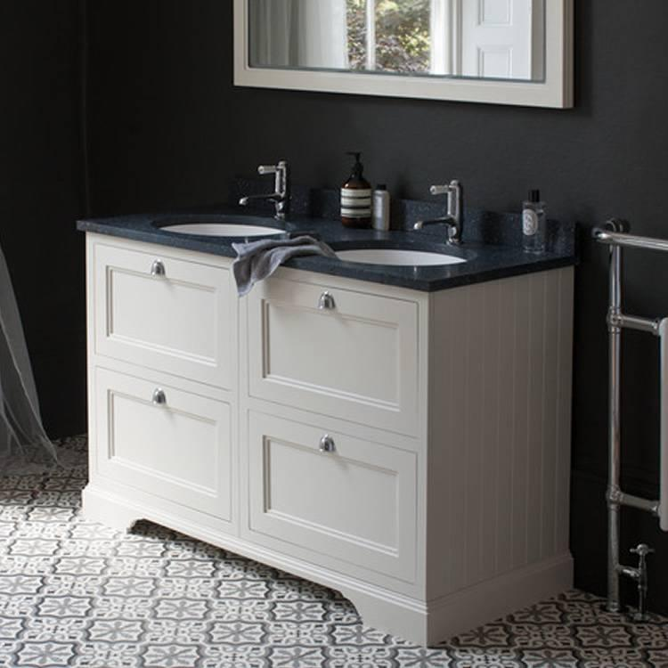 Burlington Sand 1300mm Double Vanity Unit With Drawers