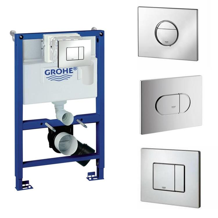 Grohe Fresh 4 In 1 Rapid Sl Cistern Frame Pack Sanctuary Bathrooms
