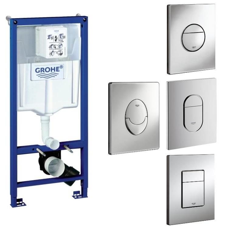 grohe rapid sl wc cistern frame pack grohe frames sanctuary bathrooms. Black Bedroom Furniture Sets. Home Design Ideas