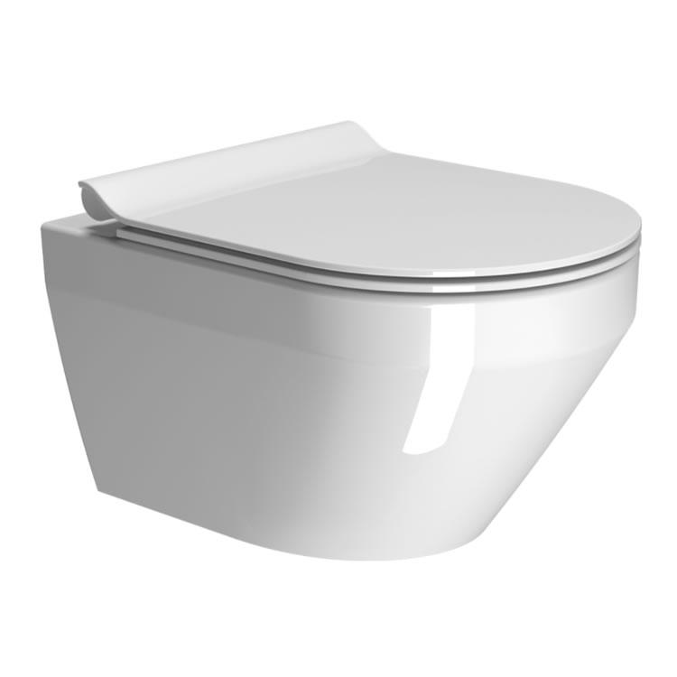 Gsi Kube Flat 50 Wall Hung Toilet Amp Seat Sanctuary Bathrooms