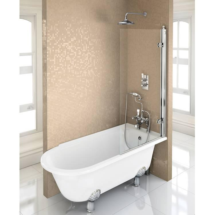 1700 Freestanding Shower Bath Sanctuary Bathrooms