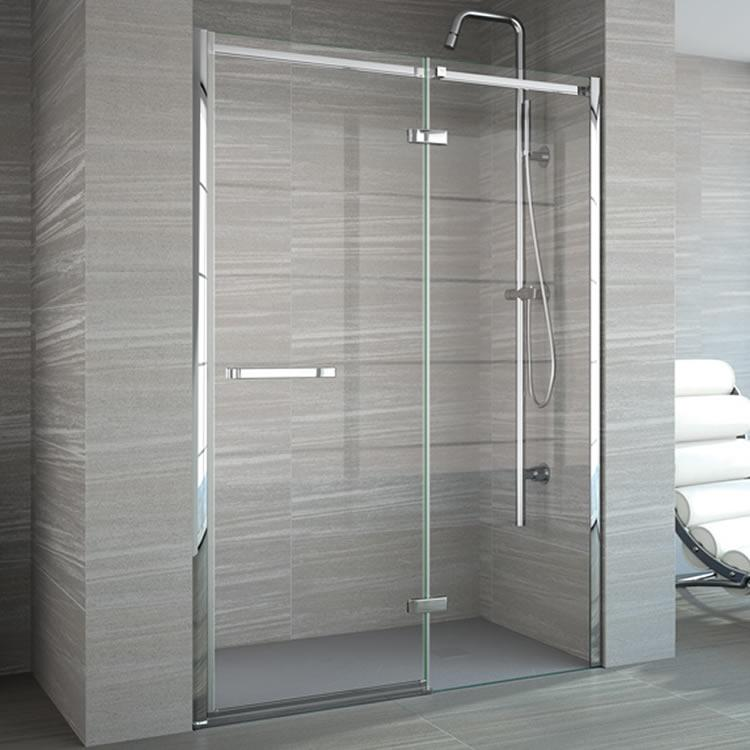 Hinged Shower Doors And Enclosures Sanctuary Bathrooms