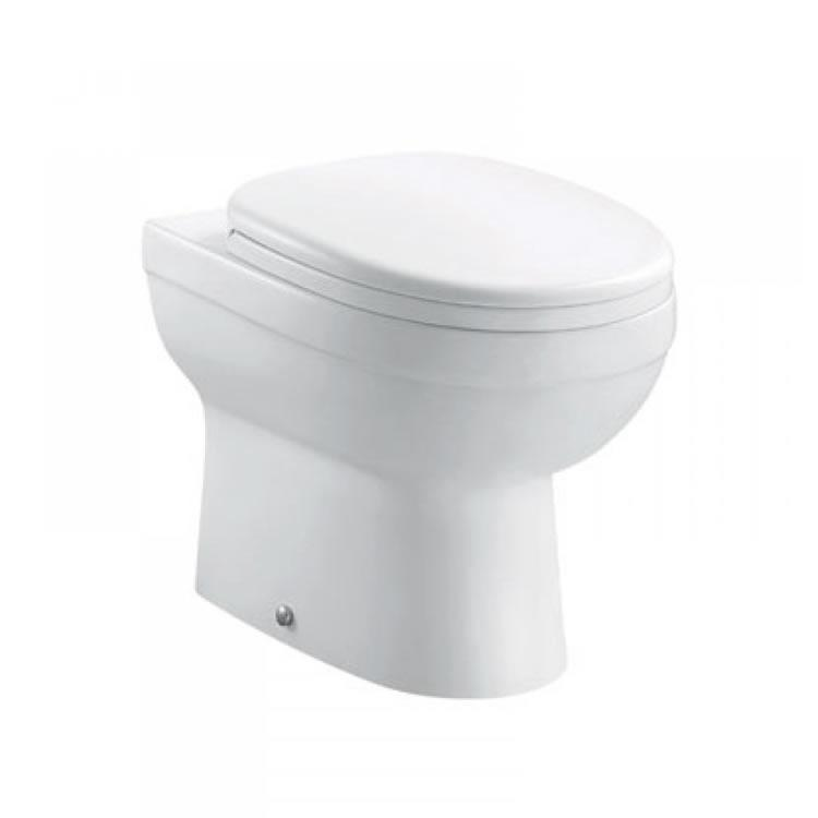 Pura Ivo Compact Back To Wall Toilet Amp Seat Back To Wall