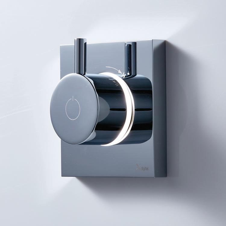 Crosswater Kai Single Outlet Digital Shower Valve With Processor   High  Pressure
