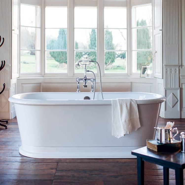 Burlington London Round Freestanding Bath Burlington