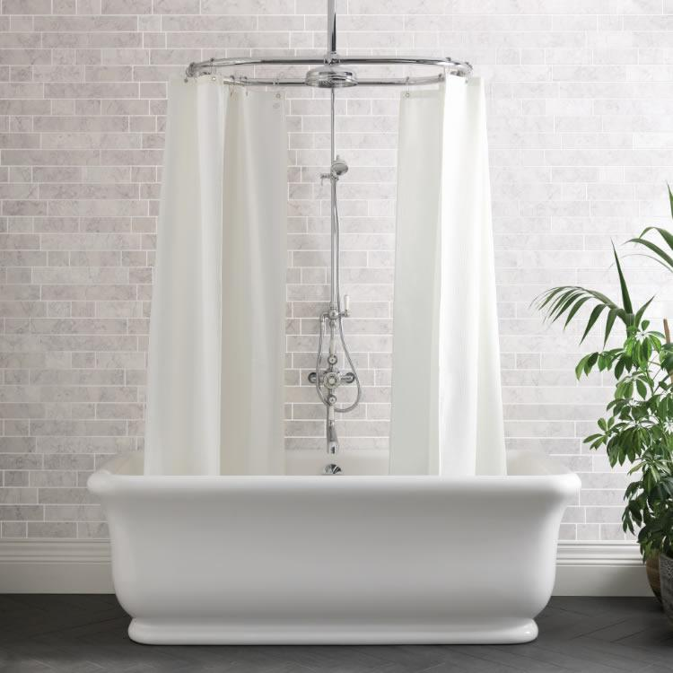 Bc Designs 1800mm Senator Freestanding Bath Free