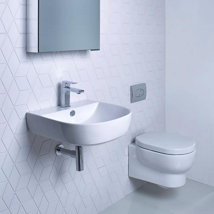 Roper Rhodes Zest Cloakroom Toilet   Basin Set. Arcade Cloakroom Toilet   Basin Set   Free Delivery   Sanctuary