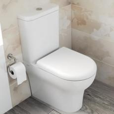 Close Coupled Toilets - Closed Back