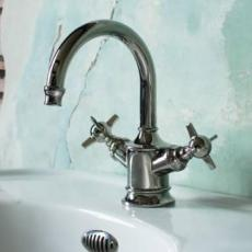 Arcade Nickel Bathroom Taps & Mixers