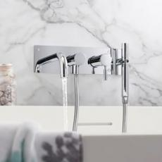 Wall Mounted Bath Shower Mixers