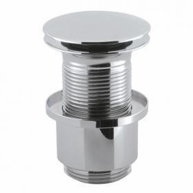 Crosswater Unslotted Basin Click Clack Waste - Extended Thread