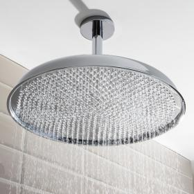 Crosswater Belgravia 450mm Chrome Fixed Shower Head
