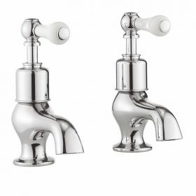 Crosswater Belgravia Lever Bath Pillar Taps
