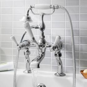 Crosswater Belgravia Lever Bath Shower Mixer with Kit