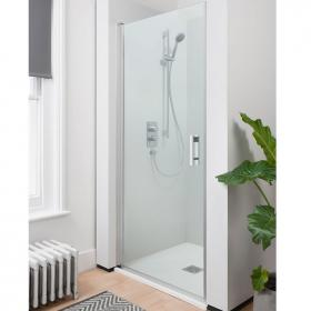 Simpsons Click 900mm Hinged 6mm Shower Door