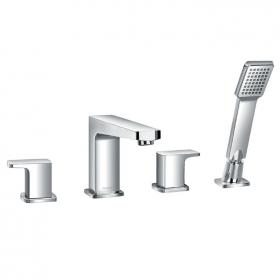 Flova Dekka 4 Hole Bath Shower Mixer & Handset