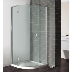 Simpsons Design Semi-Frameless Quadrant Door