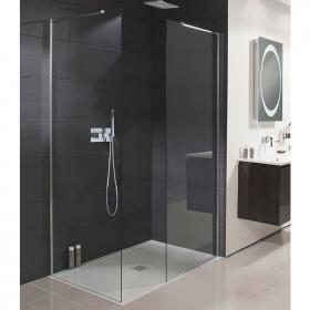 Simpsons Design Semi Frameless Walk In Glass Panel