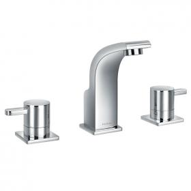 Flova Essence 3 Hole Basin Mixer Tap Inc Waste