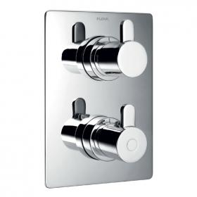 Flova Essence Thermostatic Shower Valve with 3 Way Diverter