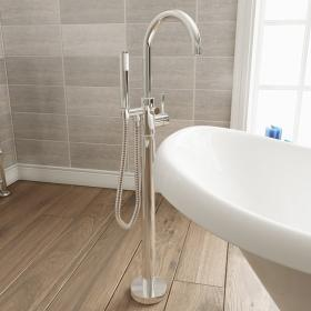 Adora Fusion Single Lever Freestanding Bath Shower Mixer