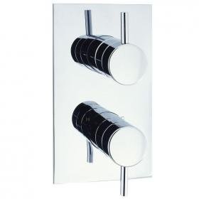 Adora Fusion Thermostatic Shower Valve with 2 Way Diverter