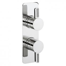 Crosswater Glitter Thermostatic Shower Valve with 2 Way Diverter
